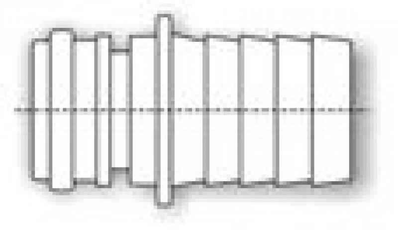 schlauchanschluss quad gerade 3 4 zoll 3 81. Black Bedroom Furniture Sets. Home Design Ideas