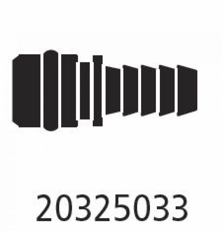 Flojet Anschluss 20325033 Gerade für Schlauch 1/4 Zoll, 3,00 &e