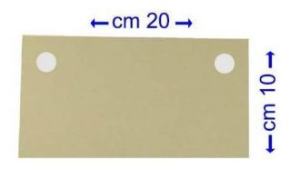 Filter Pads 10 x 20 cm 45 µm   Set