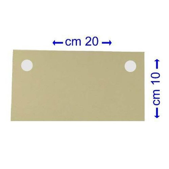 Filter Pads 10 x 20 cm 25 µm   Set